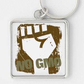NO GMO Fist Key Chain