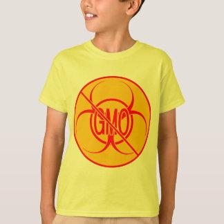 No GMO Kid's T-shirt Bio Hazard GMO Shirts