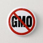 No GMO, Non GMO, March Against Monsanto 6 Cm Round Badge