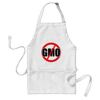 NO GMO - organic mansanto activism protest farming Apron