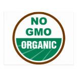 No GMO Organic Post Cards