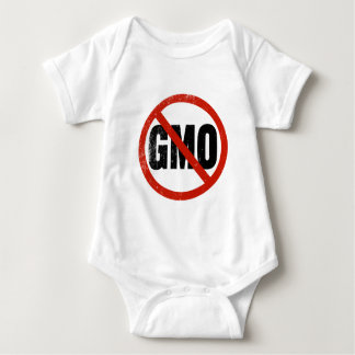 NO GMOs Anti-GMO Baby Bodysuit