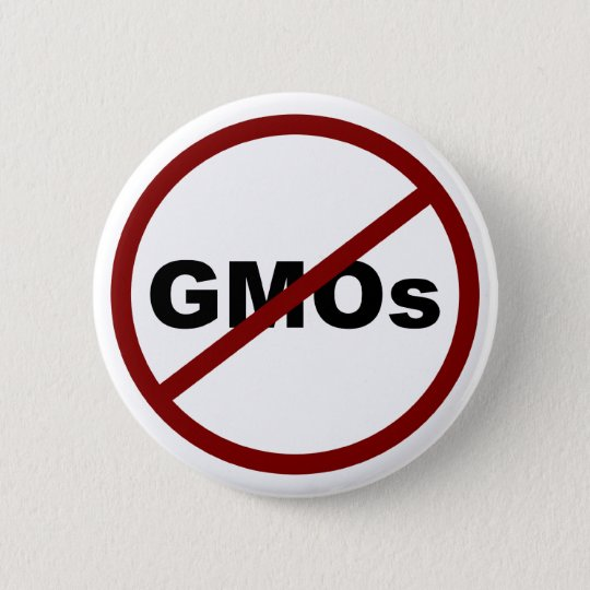 No GMOs Button