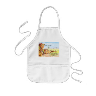 No gnus kids apron