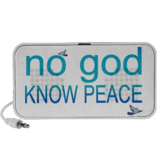 No God, Know Peace Speakers