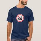 No Golf Carts Sign T-Shirt