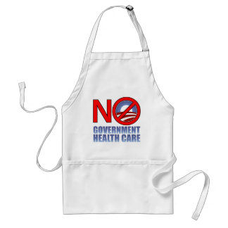 No Government Health Care Standard Apron