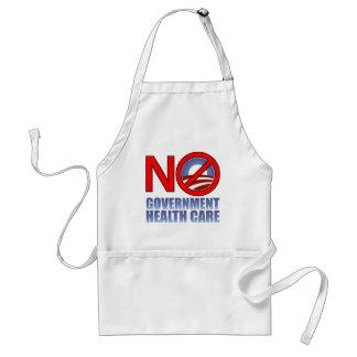 No Government Health Care Standard Apron