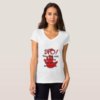 No Grabbing T-Shirt