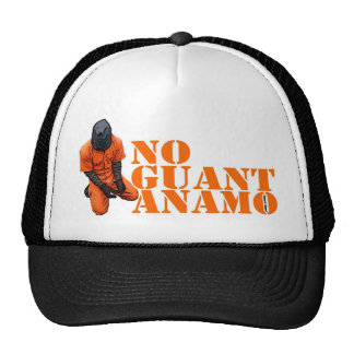 No Guantanamo Mesh Hats
