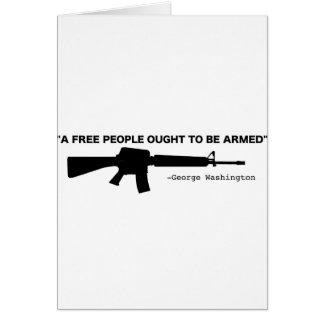 No Gun Control Greeting Cards