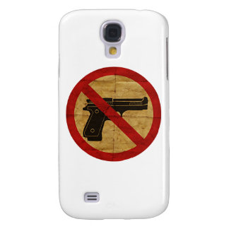 NO GUNS GALAXY S4 COVER