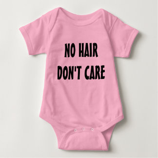 No Hair Don't Care all-in-one Tee Shirt