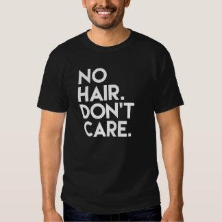 No Hair Don't Care Funny Men's shirt