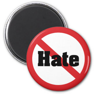 No Hate Refrigerator Magnets