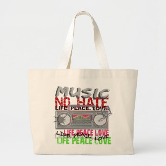 No Hate Music bag - choose style