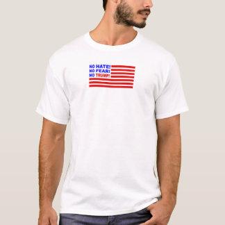 No Hate, No Fear, No Trump Flag Mini (Mens) T-Shirt