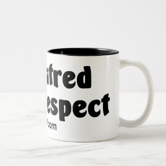 No Hatred Only Respect Two-Tone Coffee Mug