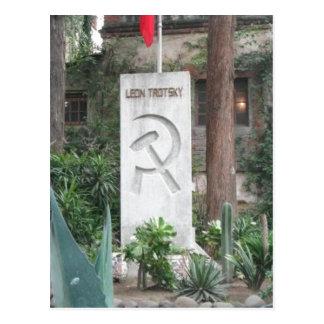 No higher resolution available. Trotsky_grave.jpg  Postcard