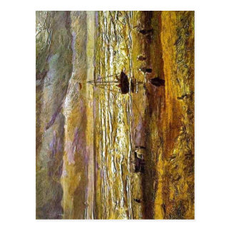 No higher resolution available. Vincent_van_Gogh,_ Postcard