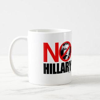 NO HILLARY BOLD - Anti Hillary png.png Coffee Mug