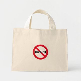 No Hippies bag