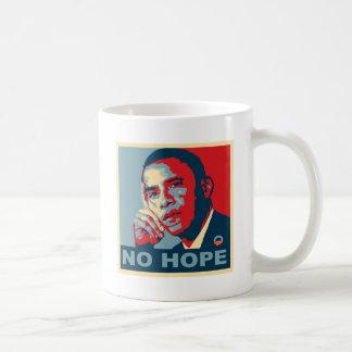 No Hope Obama Basic White Mug