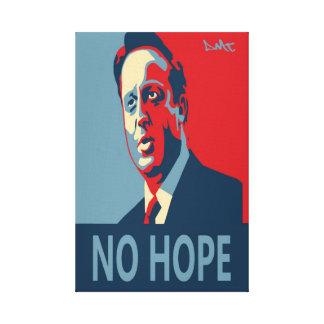 No Hope obey uk Graffiti canvas Canvas Print