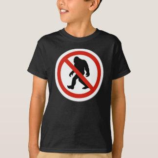 No Hunting Bigfoot T-Shirt