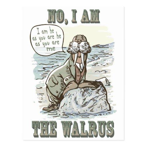 No, I am the Walrus Post Card
