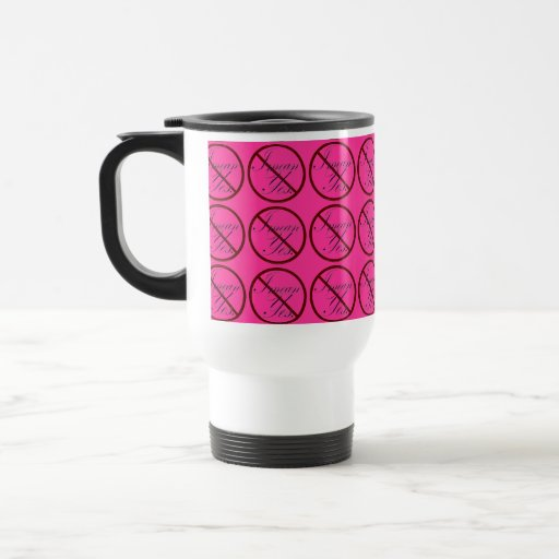 No, I mean Yes Tiled PINK Coffee Mugs