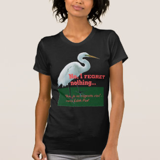 No, I rEGRET nothing... T-Shirt