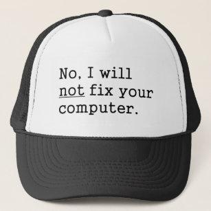 The I.T Guy Funny Baseball Cap Hat Gift Work Job Computer Technician Repair