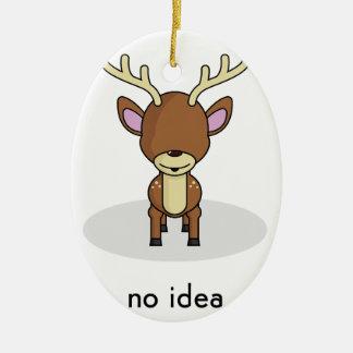 No Idea Christmas Ornament