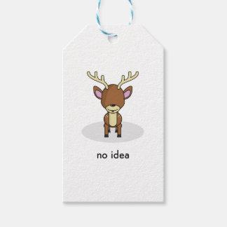 No Idea Gift Tags