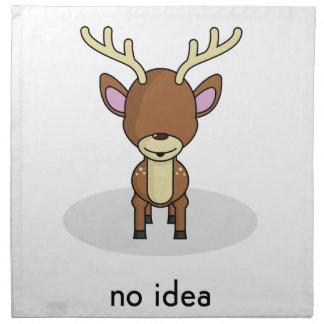 No Idea Napkin