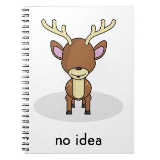 No Idea Spiral Notebook