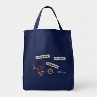 No Instructions Tote Bag