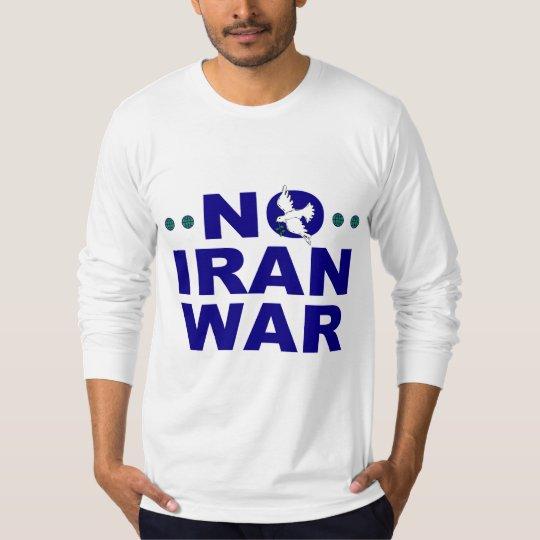 No Iran War T-Shirt