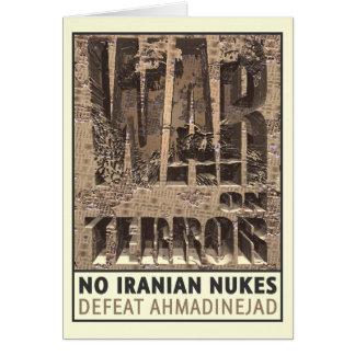 No Iranian Nukes Card