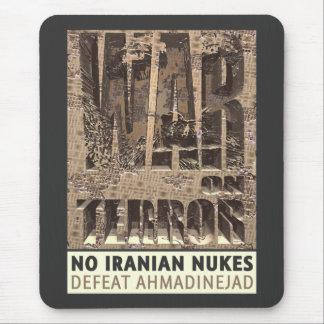 No Iranian Nukes Mouse Pad