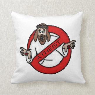 No Jesus - Atheist Cushion