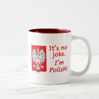 No Joke I m Polish Mugs