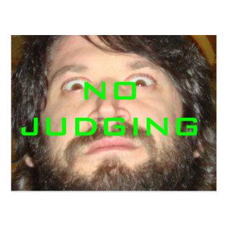 No Judging x Herbert Baglione Postcard