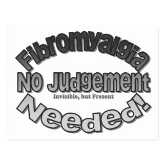 No Judgment Needed! Postcard