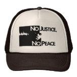 no-justice-no-peace trucker hat