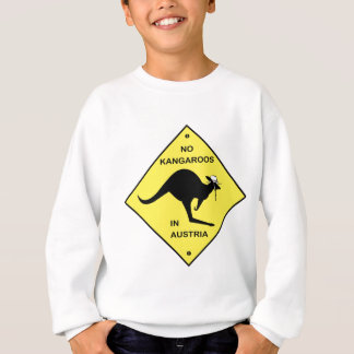 No kangaroos in Austria! Sweatshirt