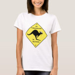 No kangaroos in Austria! T-Shirt