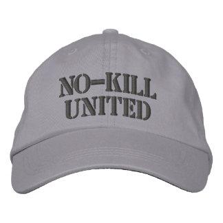 NO-KILL UNITED : HAT-DCH EMBROIDERED BASEBALL CAP