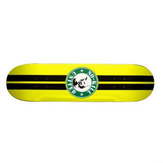 NO-KILL UNITED : LOGOSKT3065-2YB SKATE BOARD DECK